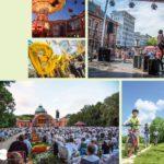 Stadtgärten Bad Homburg Collage